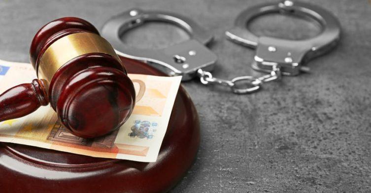 Konfiskata majątku pochodzącego z przestępstwa.