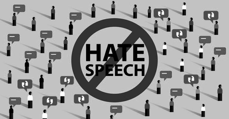 Mowa nienawiści w przestrzeni publicznej.