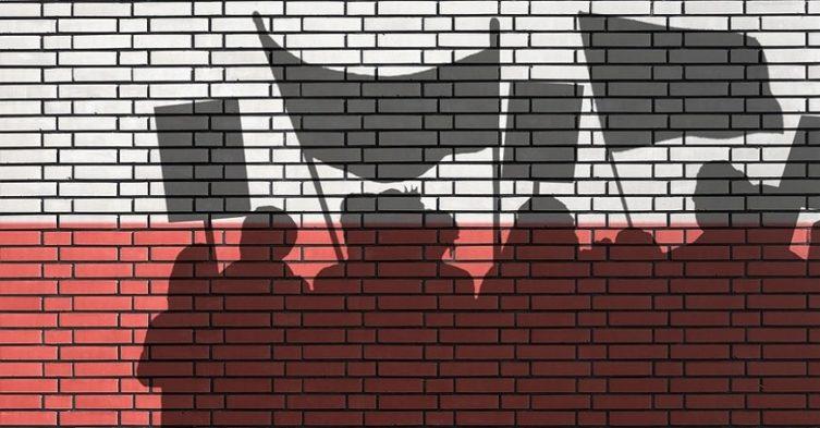 Protesty w roku wyborczym.