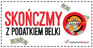 """""""Podatek Belki"""" do likwidacji? Akcja portalu Najlepszelokaty.pl z petycją do ministra finansów"""